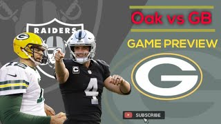 Film Study: Oakland Raiders vs Packers Game Preview