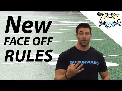 New NCAA Faceoff Rules Explained w/ Greg Gurenlian
