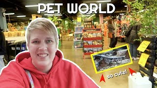 SHOPPING AT MY FAVORITE LOCAL PET STORE