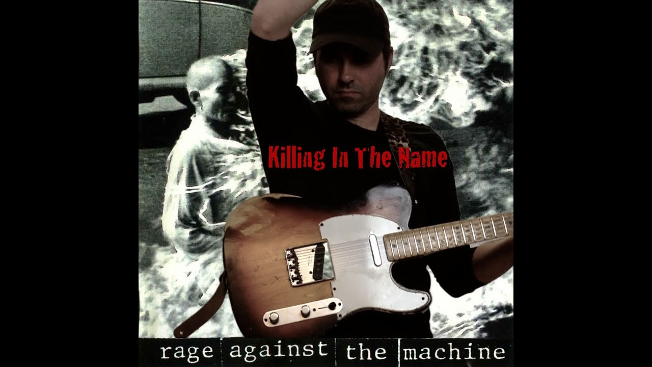 rage against the machine killing in the name guitar cover by martial allart youtube. Black Bedroom Furniture Sets. Home Design Ideas