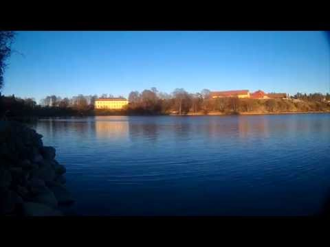 STOCKHOLM COUNTY - LAKE EDSVIKEN IN AUTUMN