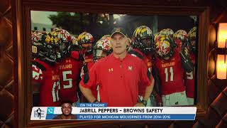 Browns DB Jabrill Peppers on Maryland's D.J. Durkin's Coaching Style | The Rich Eisen Show | 8/14/18