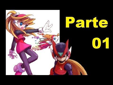 Vamos Jogar Megaman Zero em Português Parte 01