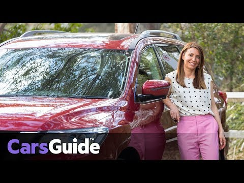 Nissan Pathfinder Ti 2017 Review: Family Test Video