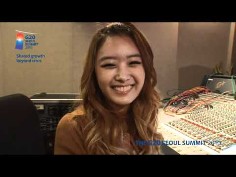 "[HD] (Making Of) G20 Seoul Summit Theme Song - ""Lets Go"""