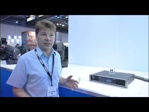 Shure Distributuon QSC Audio - CXD Series Power Amplifiers