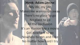 [HQ] 50 Cent - My Life ft. Eminem, Adam Levine [Lyrics+Download]