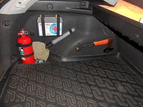 Chevrolet Cruze Универсал  - крепление мелочей в багажник