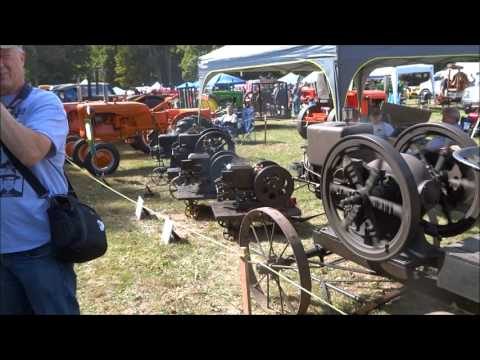 The Connecticut Antique Machinery Association Fall Show 2015 in Kent, CT