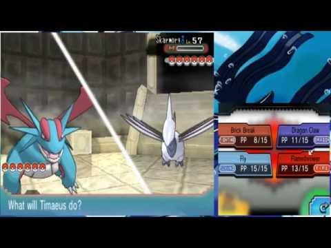 Pokemon Alpha Sapphire (Mono Water) 044 Champion Steven