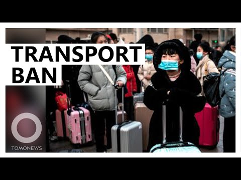 Wuhan virus sparks suspension in public transport - TomoNews