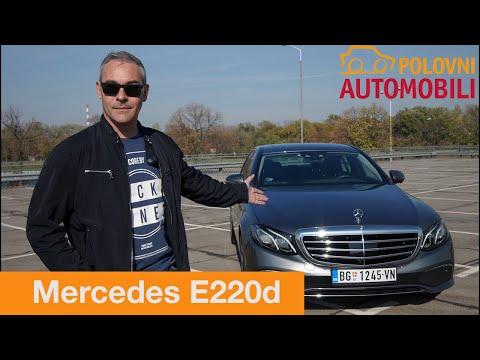 Mercedes Benz E 220d Exclusive [Autotest] - Da li je vozač uopšte neophodan? Polovni automobili