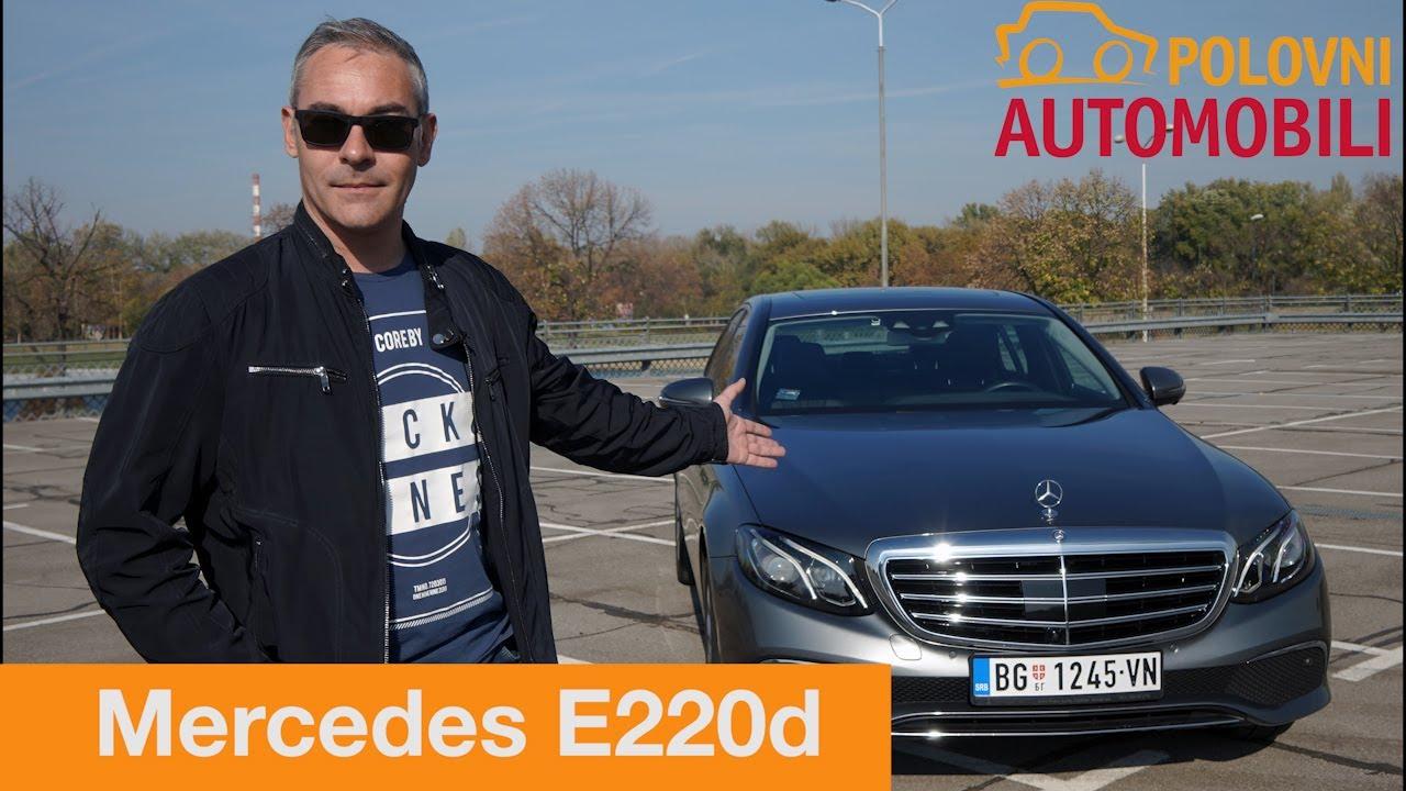 Mercedes Benz E 220d Exclusive Autotest Da Li Je Vozač Uopšte Neophodan Polovni Automobili