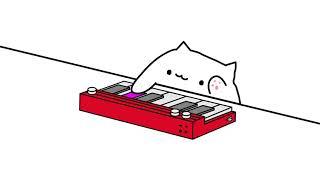 Piano cat let's go