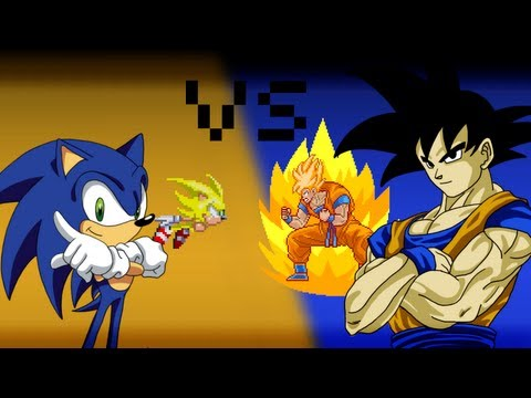Goku VS Sonic - The 8Bit Rap Battles #1 Travel Video