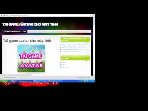 Cài đặt Java và chơi Avatar trên máy tính