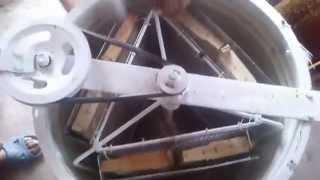 Centrifuga ,,Homemade Самодельная медогонка