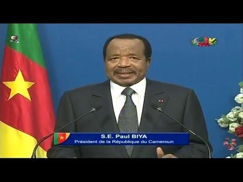 DISCOURS DE S.E Paul BIYA A LA NATION CAMEROUNAISE - Dimanche 31 Décembre 2017
