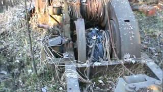 Abandoned logging equipment