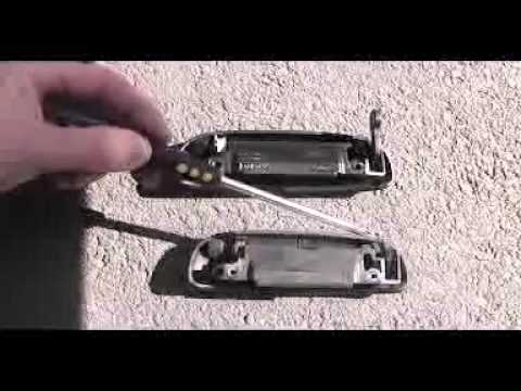 Ford Ka Door Handle Replacement 3gp Youtube