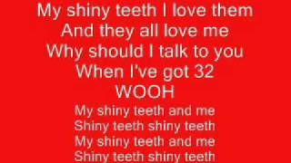 Chip Skylark Shiny Teeth and me Lyrics
