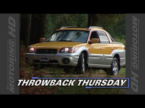 Throwback Thursday: 2003 Subaru Baja Test Drive