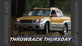 Throwback Thursday: 2003 Subaru Baja Test Drive