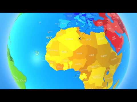 Globe 3D - Animation examples