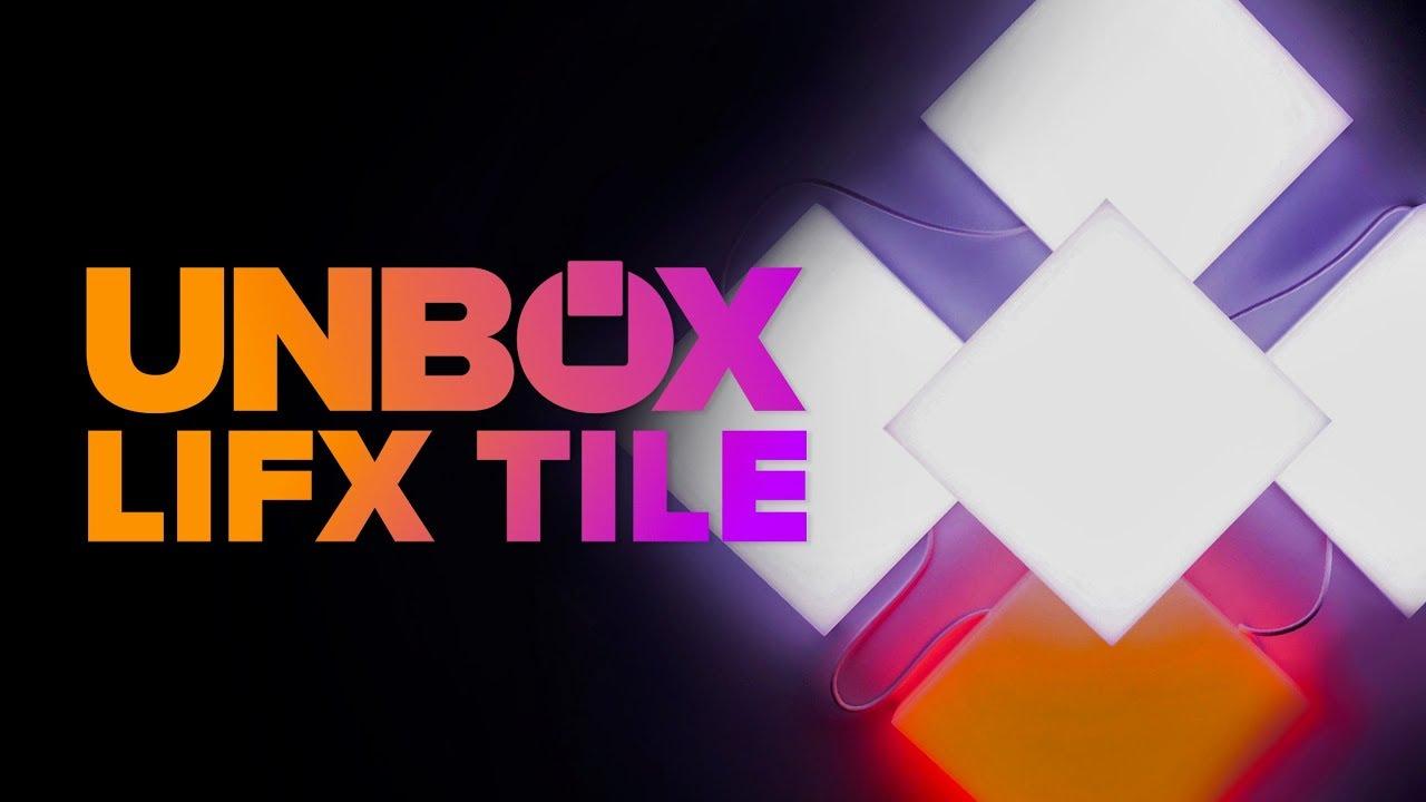 lifx tile unboxing