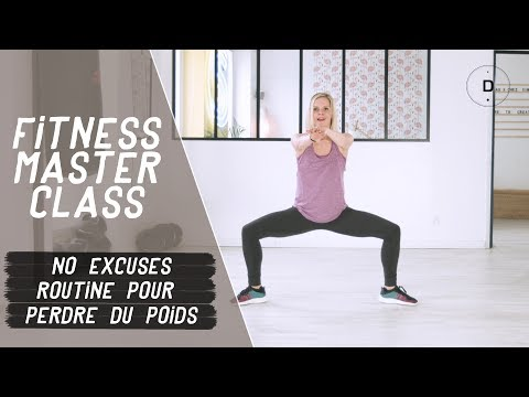 No-excuses - Routine pour perdre du poids (20 min) - Fitness Master Class