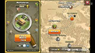 Clash of clans:Lets attack some people!
