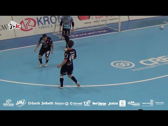 TV JEC - Cascavel 5x5 JEC/Krona - Jogo de ida das Oitavas de Final LNF