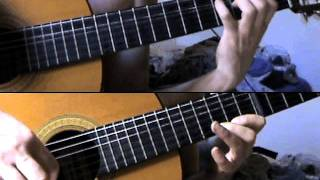 Zelda   Underworld theme for 2 Guitars