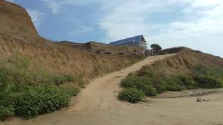 видео Коса Тузла, Таманский полуостров, Отдых на Черном море дикарем