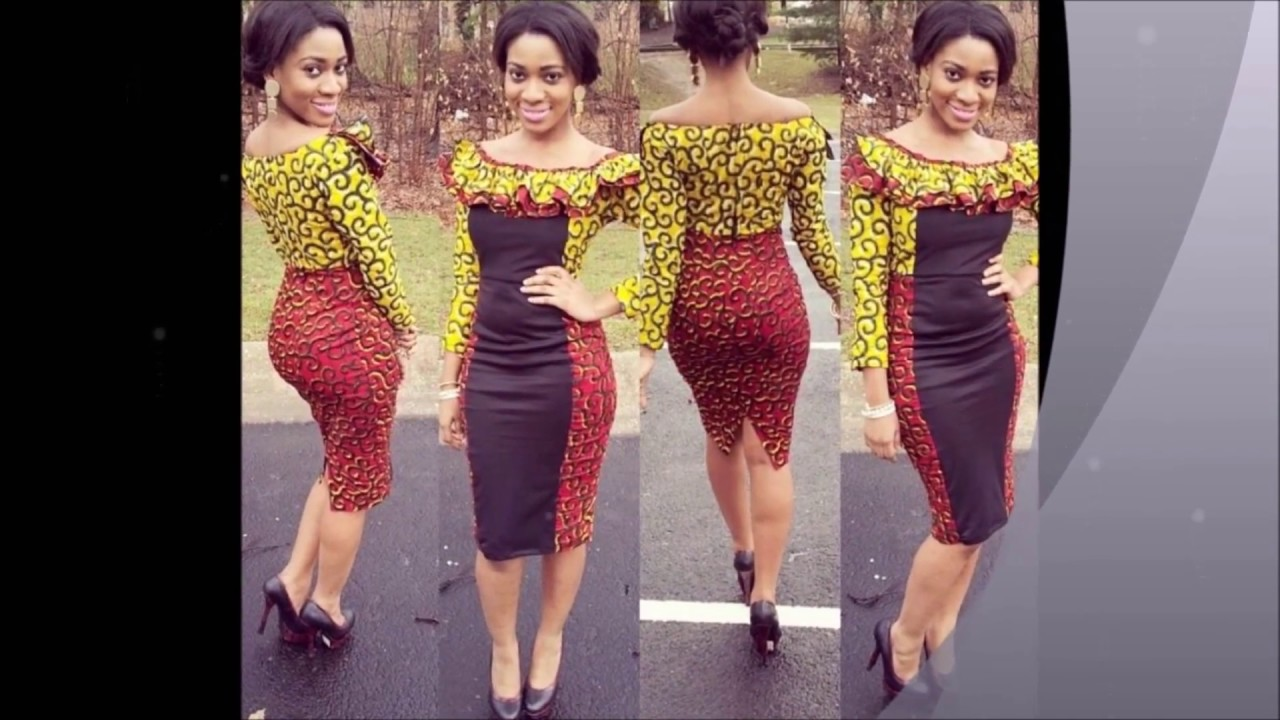 African Couture My Choice Of Few African Print Designs