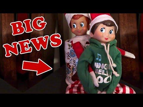 Elf on the Shelf Elves Return - My Elf is Having a Baby