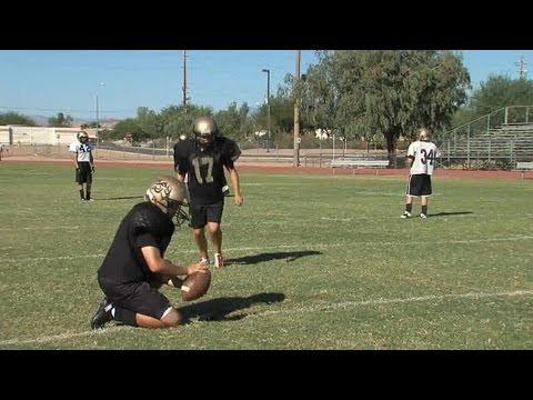 Apache Junction girl star athlete of HS football team