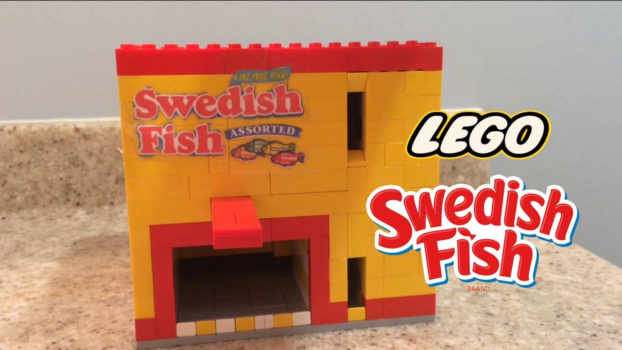 Lego Assorted Swedish Fish Machine - YouTube