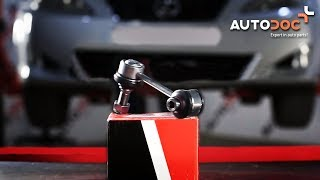 How to replace rear anti roll bar link LEXUS IS 2 TUTORIAL | AUTODOC