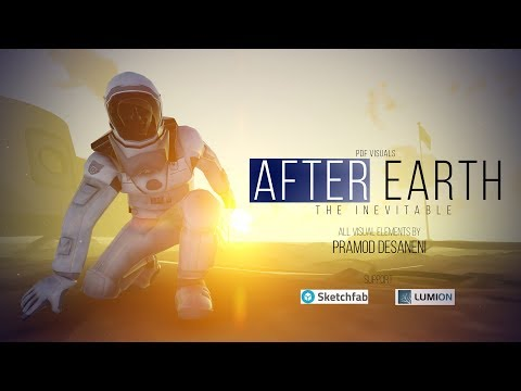 AFTER EARTH CGI 3D Animated Short Film SCI FI   by  Pramod Desaneni