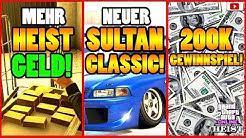 🙌Alle Neuen Inhalte!🙌 Mehr HEIST GELD! SULTAN CLASSIC + Mehr! [GTA 5 Online Casino Heist Update]