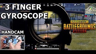 PUBG Mobile 3 Finger Claw + Gyroscope  Best Game Style !