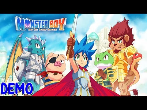 [ MONSTER BOY AND THE CURSED KINGDOM ] Demo Nintendo Switch (Español) thumbnail