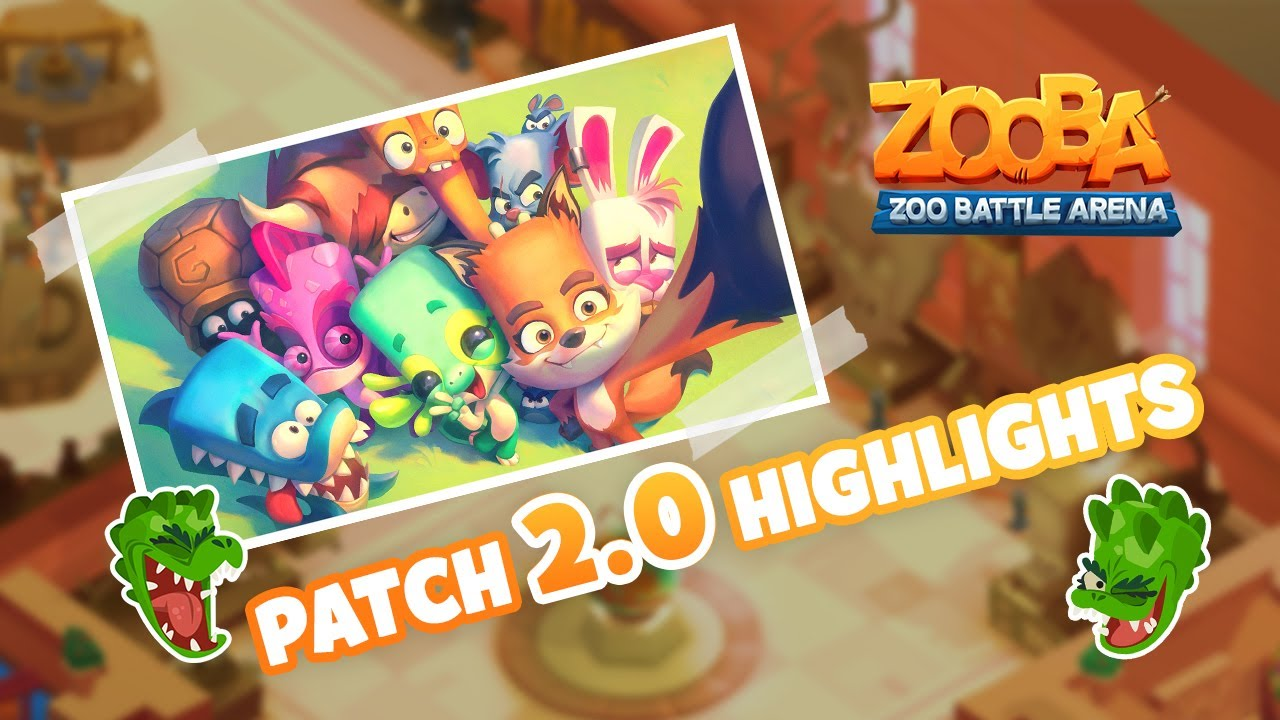 Patch 2.0 Highlights - New Game Modes, Donna the Crocodile, The Museum and much more!