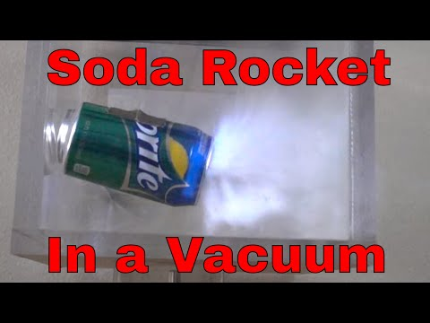 Can a Rocket Really Fly in a Vacuum Chamber? The Perfect Experimental Proof