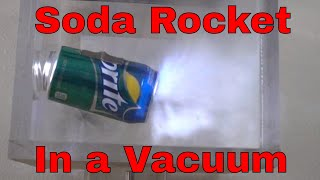 Can a Rocket Fly in a Vacuum Chamber?