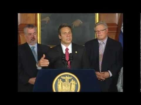 Gov. Andrew Cuomo Signs Same-Sex Marriage Bill into Law