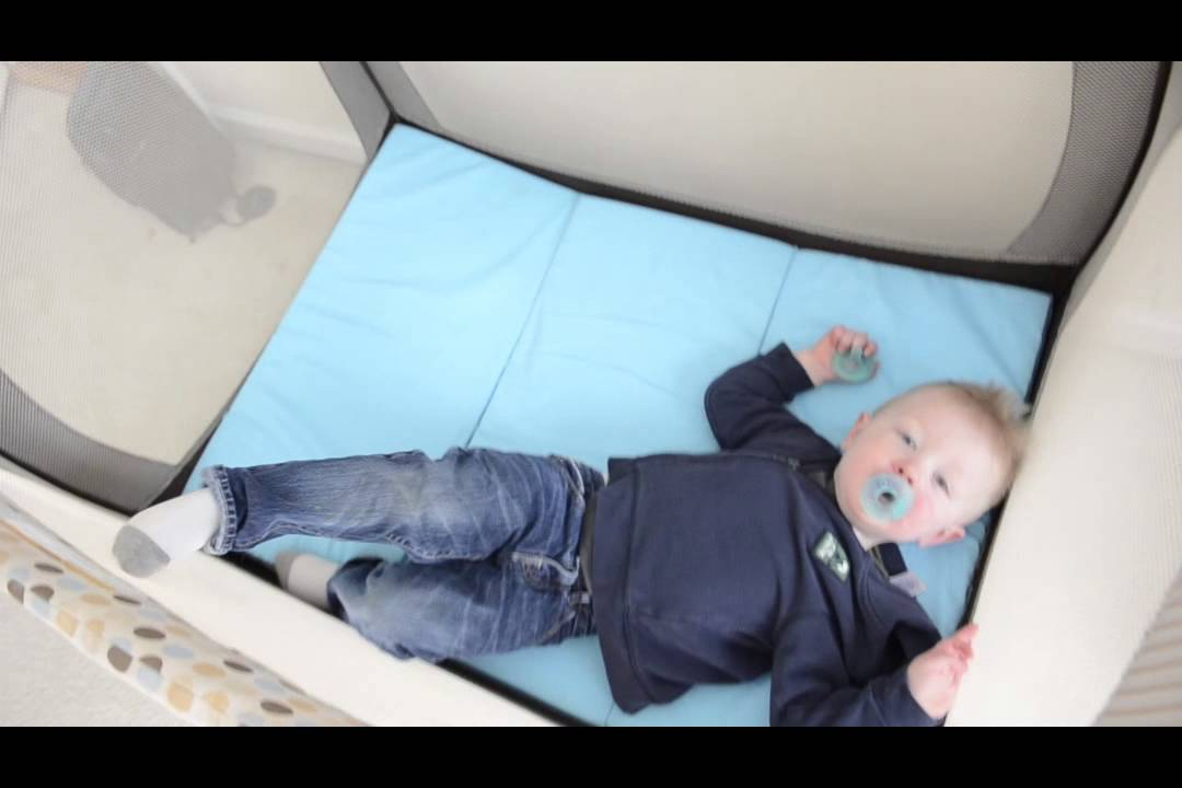 MamaDoo Play Yard Mattress Topper Review - YouTube