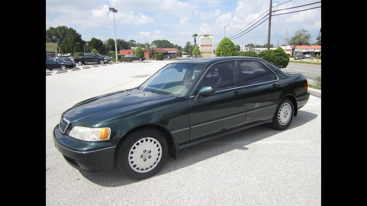 Acura Rl For Sale >> SOLD 1998 Acura 3.5 RL Meticulous Motors Inc Florida For ...