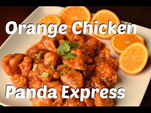 Orange Chicken Panda Express Style Chinese Recipe. Asian Comfort Food by Chawlas-Kitchen.com